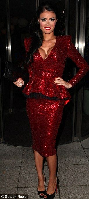 Charlotte g shore red dress kohls