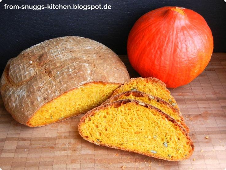 pumpkin bread / kürbisbrot