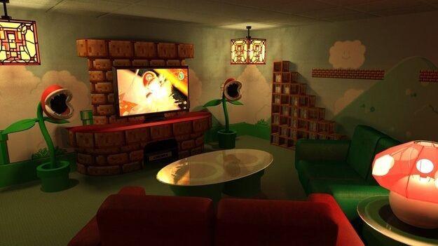 Super Mario Home Theater - Bundle of Ideas
