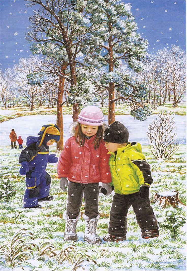 Любовь+Новосёлова_времена+года_зима_лето_осень_зимние+забавы_16.jpg (800×1156)