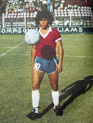 Diego... Argentinos Juniors 1977