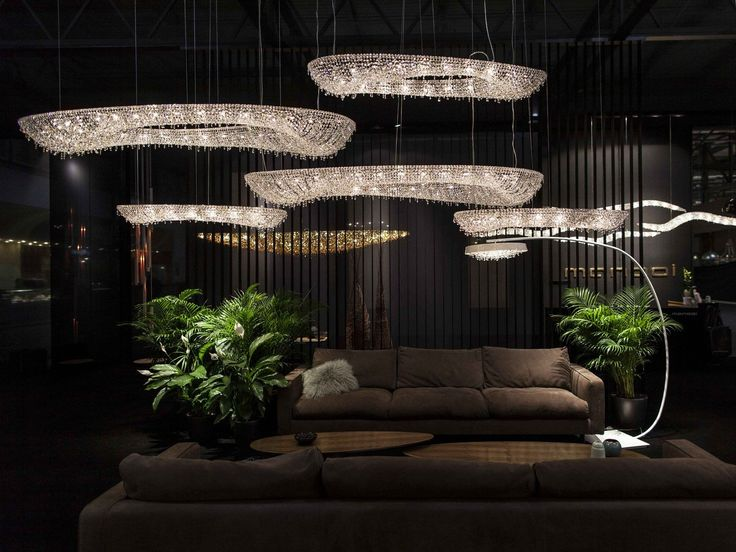 ARTICA Crystal pendant lamp by Manooi