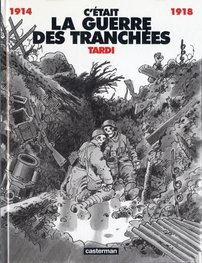 """qsy-complains-a-lot: """" C'était la Guerre des Tranchées / It Was the War of the Trenches (1993) is a French 'comic' book written and illustrated by Jacques Tardi and dedicated to his grandfather who fought 'in the trenches' (a French euphemism to talk..."""