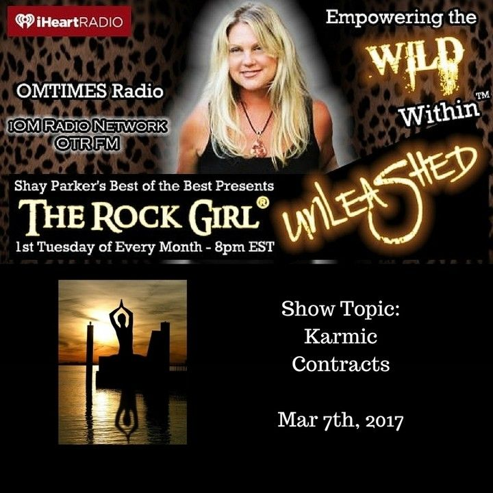 Tune in Tuesday March 7 2017 at 8pm EST as Allison Hayes The Rock Girl Master Psychic Healer and Founder of The Rock Girl Sacred Stone School talks about Karmic Contracts just because its in your Karma doesnt mean you have to keep it! Join The Rock Girl as she takes an in-depth look into Karmic Contracts Karmic Debt Karmic Grace and how you can hit the reset button and Create the Life that you Want!  http://ift.tt/1ZCqBA5  #radio #allisonhayes #therockgirlunleashed #therockgirl #empowerment…