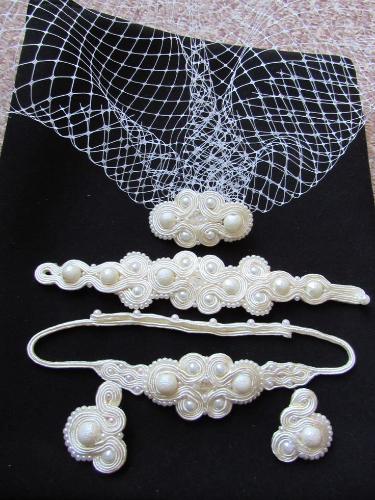 Small wedding cream set
