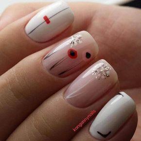 Uñas decoradas bonitas – 50 Diseños fáciles   Decoración de Uñas - Nail Art - Uñas decoradas - Part 4
