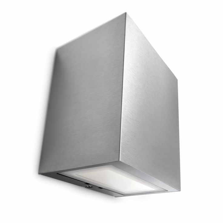 The Flagstone LED Wall Light – Stainless Steel is a stylish up and down light for illuminating your exterior space.