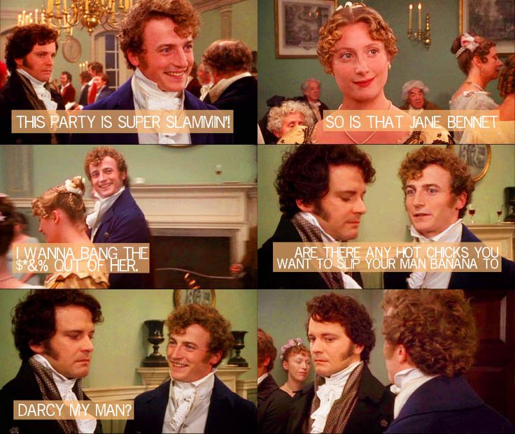 dialogue in pride and prejudice The dramatic monologue of a miss elizabeth bennet  march 29, 2011  of love and loyalty, and of pride and of prejudice so i suppose in the end it was not pride at all.
