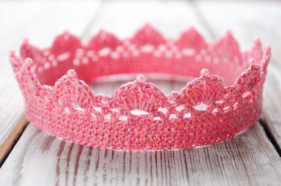 Newborn crochet crown Photo Prop