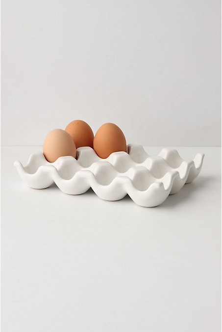 Farmer's Egg Crate. White http://www.anthropologie.com/anthro/catalog/productdetail.jsp?id=973774=HOME-KITCHEN=HOME-KITCHEN=HOME=top=330=045=true=true=HOME-KITCHEN-GADGETS