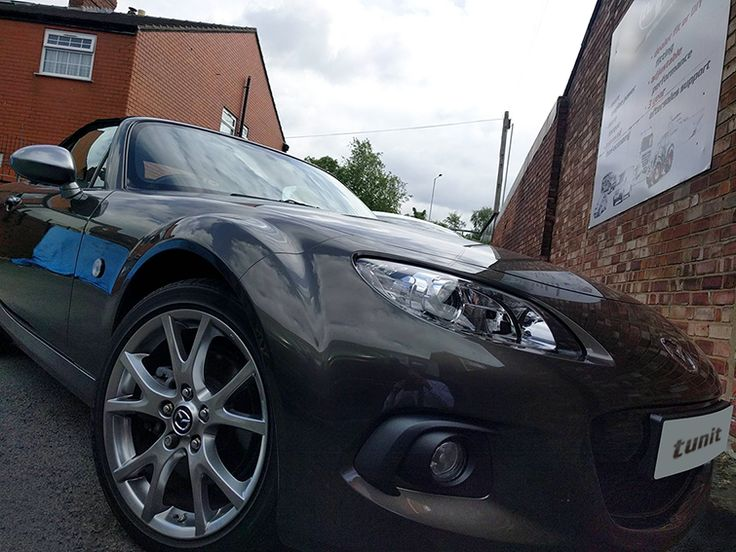 1.8 Mazda MX5 with Tunit Optimum Plus fitted BHP from 124 up to 139 Torque from 122 lbs/ft up to 136 Eco, Sport, Sport Plus & Standard Modes available Simple One Plug Fitting  For more information visit our website, simply email us at info@tunit.co.uk or call us on 01257 274100