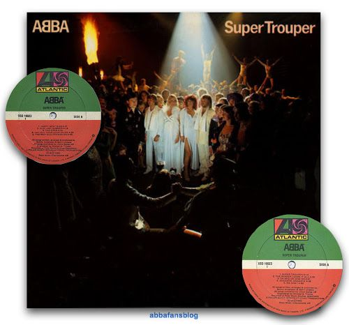 """Today in 1981 Abba's """"Super Trouper"""" album entered the charts in Canada where it stayed for 13 weeks reaching number 4. #Abba #Agnetha #Frida #Vinyl #Canada http://abbafansblog.blogspot.co.uk/2017/02/28th-february-1981.html"""