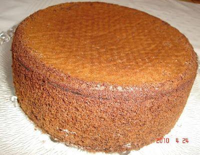 Reformnasik: Rizslisztes piskóta tortalap (gluténmentes)