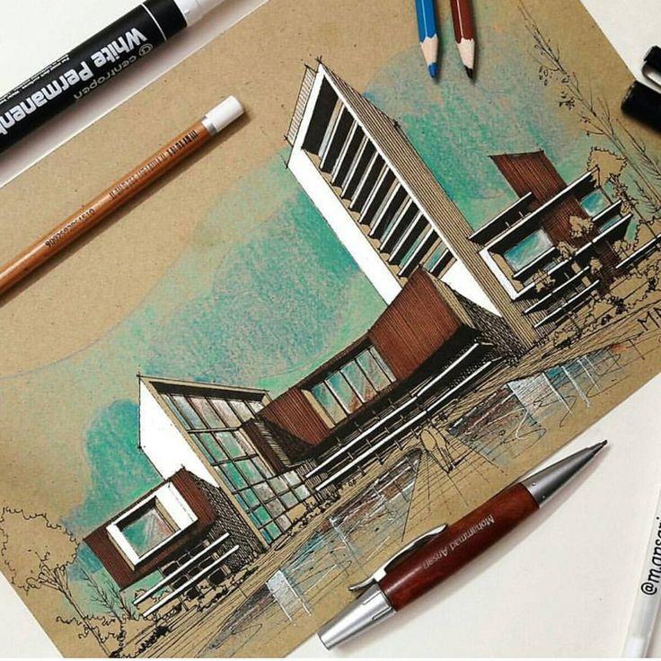 By @m.ansari.architect #sketch_arq
