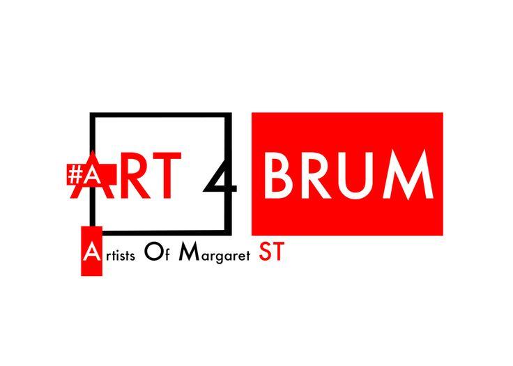 The Art4Brum Logo.  #Logo #Art