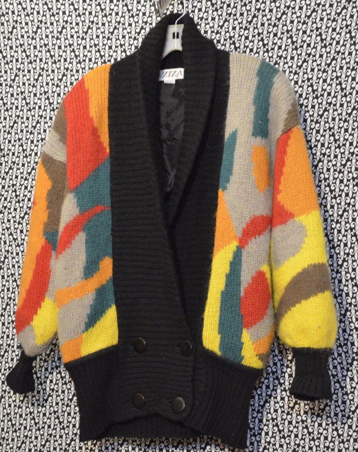Vintage Berek Hand Knit Safari Animal Sweater Vest Vintage 80's Sweater Vest Ugly Sweater Party Men's Vintage 80s Sweater Vest SIZE MEDIUM DIXgTM