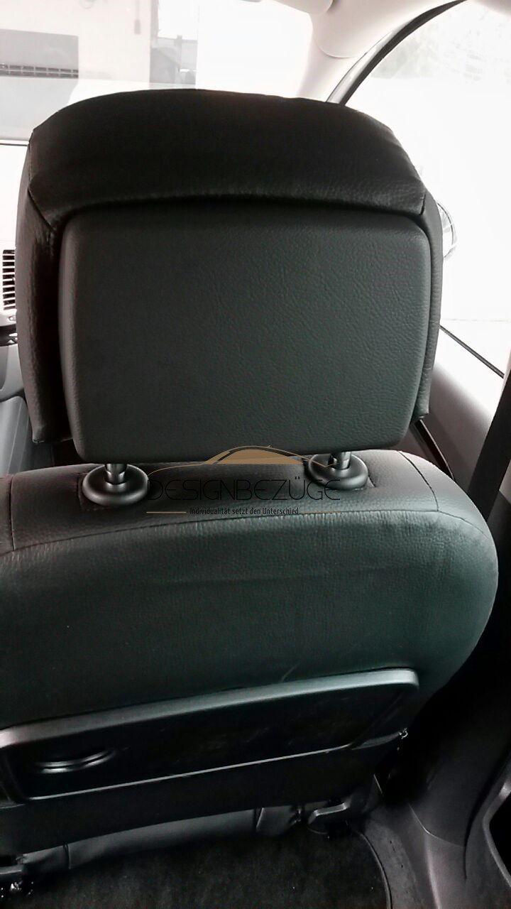 SEAT Alhambra Sitzbezüge maßgeschneidert. Die Kopfstütze wird mit einem passenden Sitzbezug bezogen. Das Design und die Eigenschaften werden nicht verändert. Dafür wird das Design ganz neu gestaltet. #Design, #Tuning, #SEAT, #Alhambra