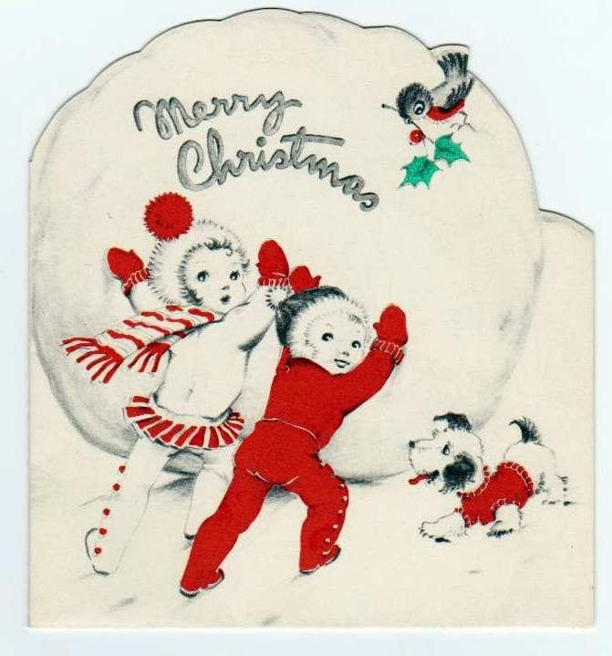 203 best Vintage Christmas Cards images on Pinterest | Vintage ...