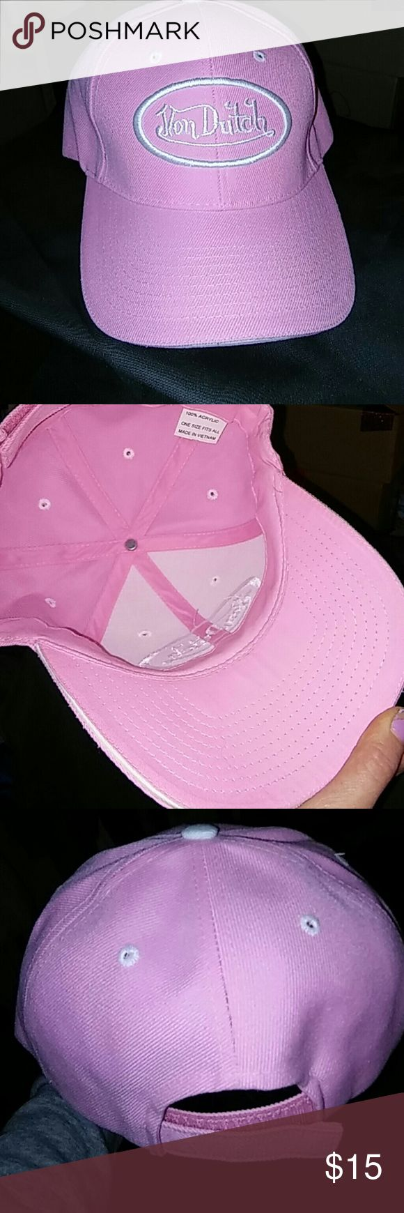 brand new Von Dutch women's baseball hat Never been more and not a single stain or mark on it von dutch Accessories Hats