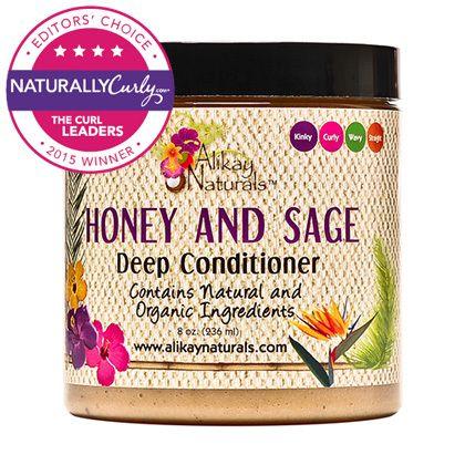 Alikay Naturals Honey and Sage Deep Conditioner - CurlMart