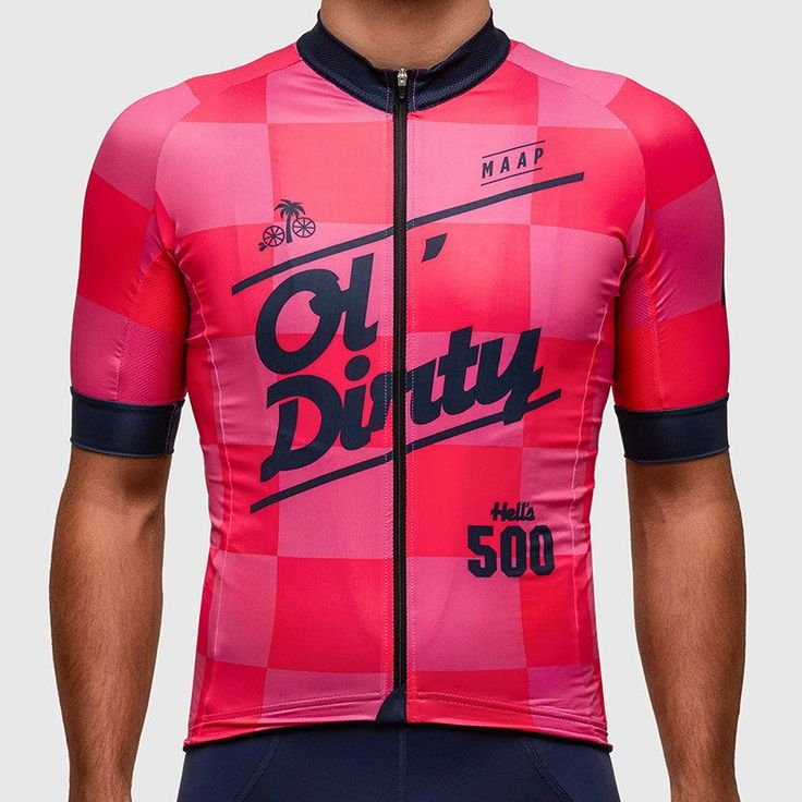 Ol' Dirty Team Jersey '16 - MAAP killing it with that type. Good stuff guys.