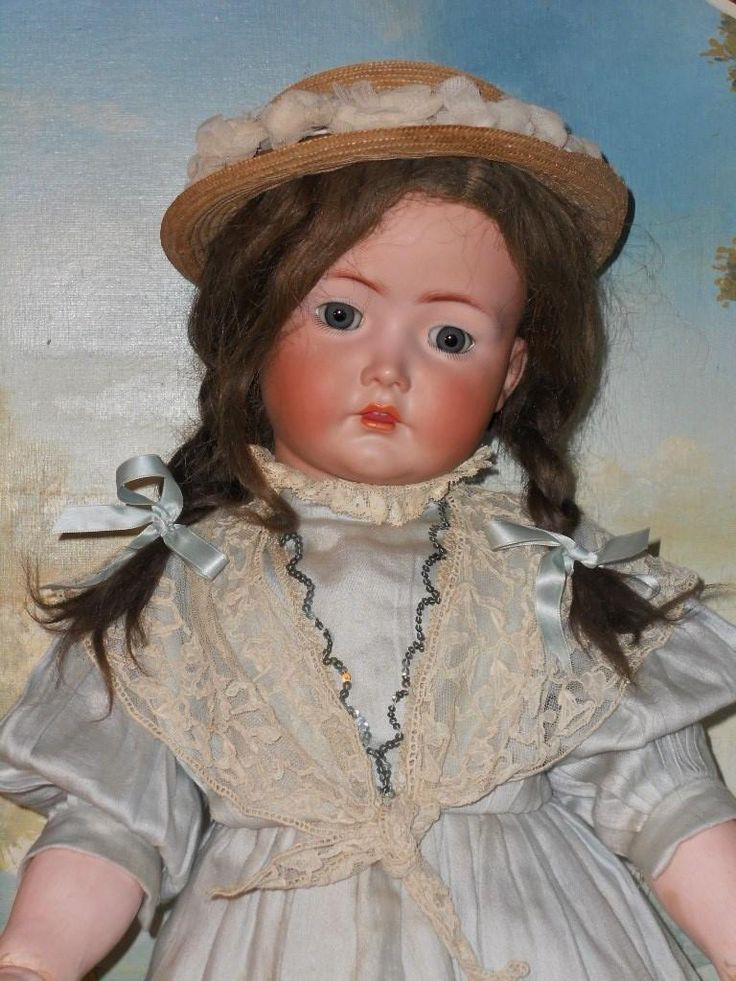 ~~~ON HOld for B. // Lovely Large German Bisque Child 117n. by Kammer from whendreamscometrue on Ruby Lane