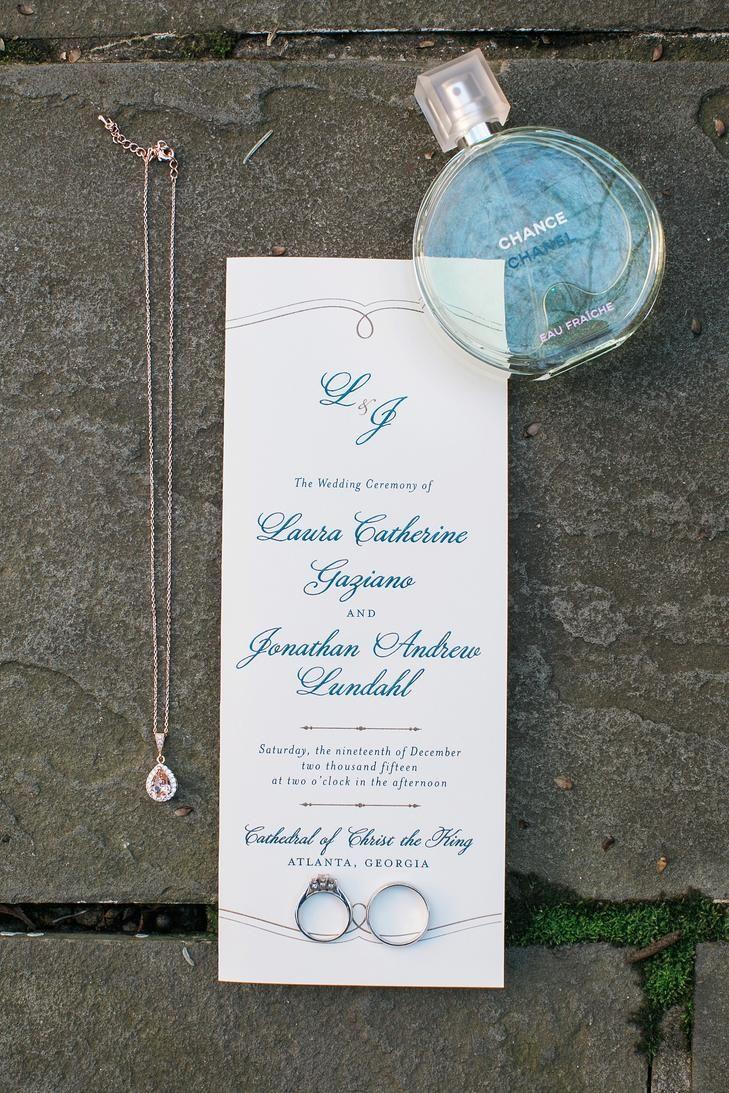 wedding invitations atlanta%0A Invitations With Blue Lettering  Atlanta GeorgiaWedding