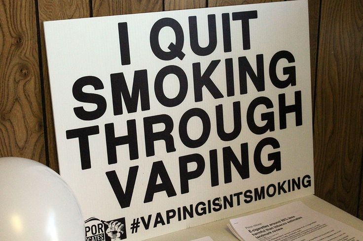 yes you can quit smoking with vaping! Thousands have already broke the nasty habit and so can you!
