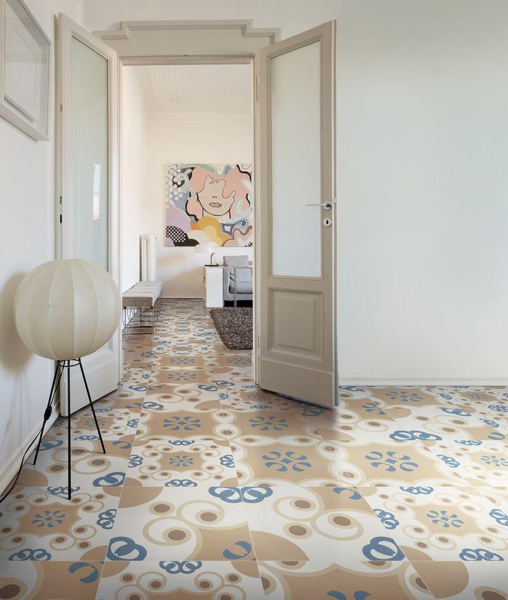 Frame Tradition RND - Studio FM Milano for DesignTaleStudio a creative lab by Ceramiche Refin S.p.A. - Italian Design #Tiles .