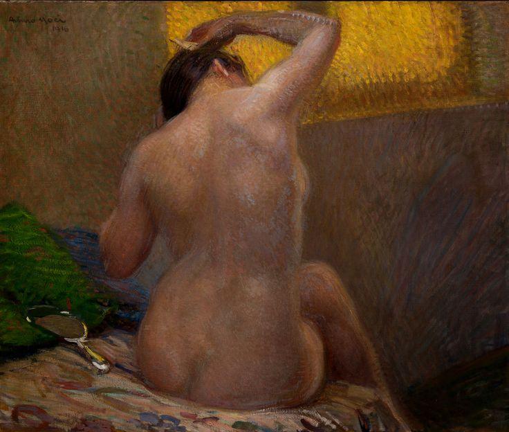 Arturo Noci, Mattino, 1916. Pinacoteca il Divisionismo