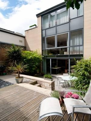 An exceptional and unique contemporary town house over three floors in the heart of Edinburgh