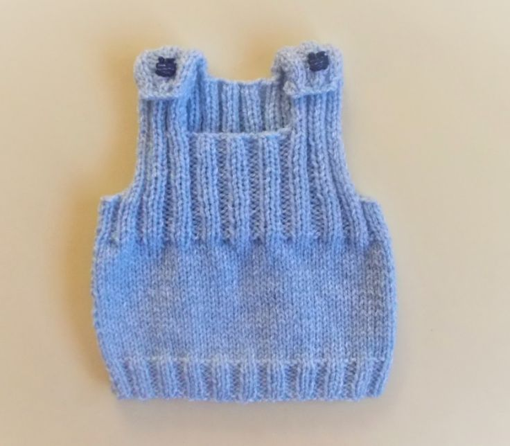 This adorable Ribbed Knit Baby Vest Pattern will make your little one look classy!