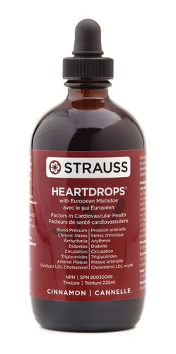 Heartdrops by Strauss Naturals