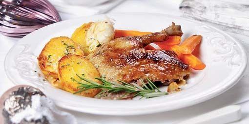 Pomaly pečená kačka - Časopis Dobré jedlo