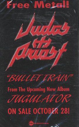 Judas Priest Bullet Train Us Promo Cassette Album Rare