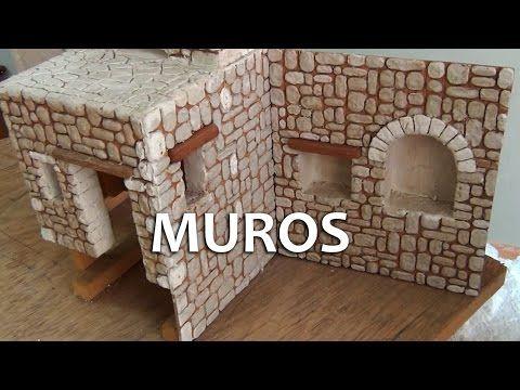 Dioramas - Terrenos en Icopor - PARTE 1 - YouTube