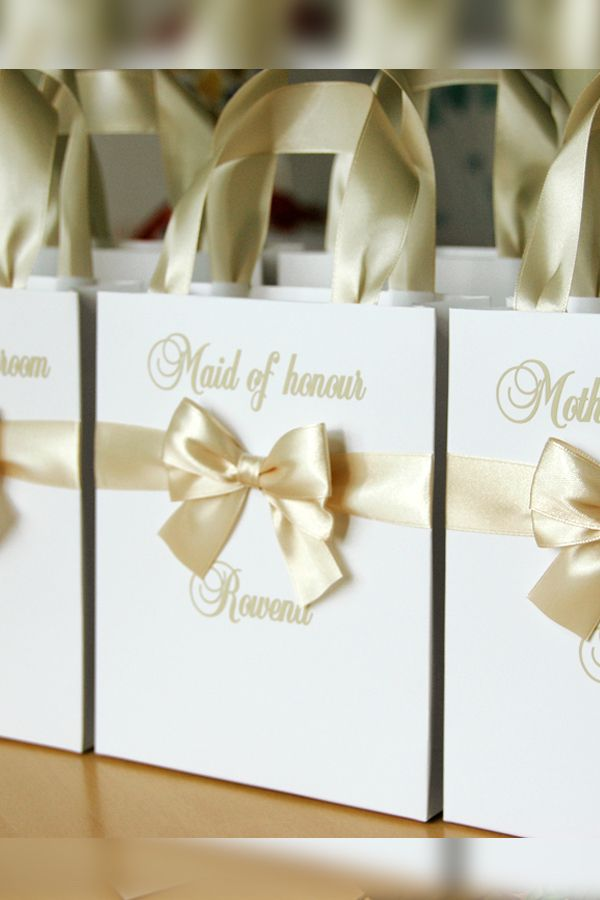 Elegant Champagne Bridesmaids Gift