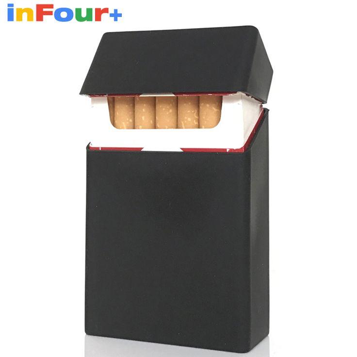 Black Silicone Cigarette Case Silicone Box Lady 20 Women Cigaret Box Cigarette Box Case Pitillera De Silicona Cigarete Case #Affiliate