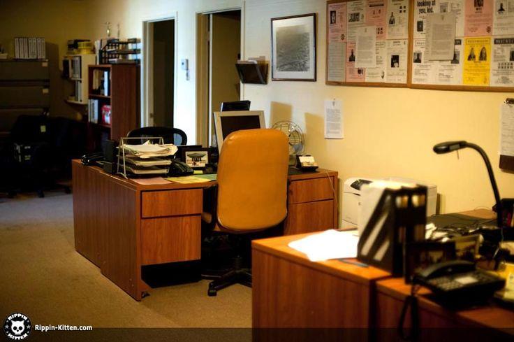 Police Station Interior Desk Google Search Police