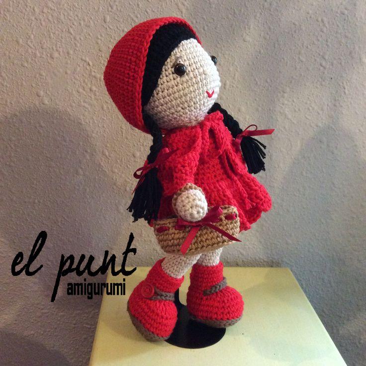 Amigurumi Caperucita Roja www.facebook.com/elpuntamigurumis