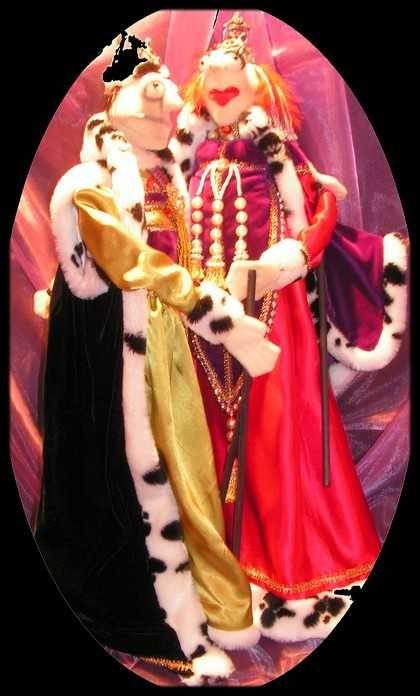 Marionnette couple royal  475,00 CA$