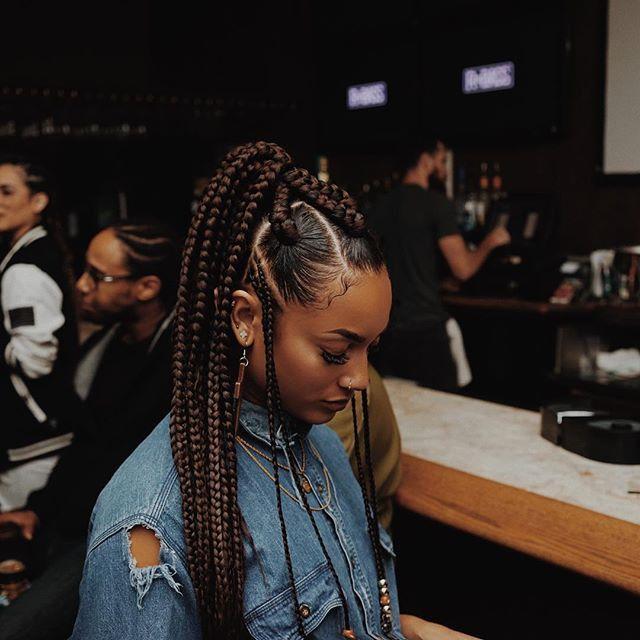 Black tumblr girls with braids