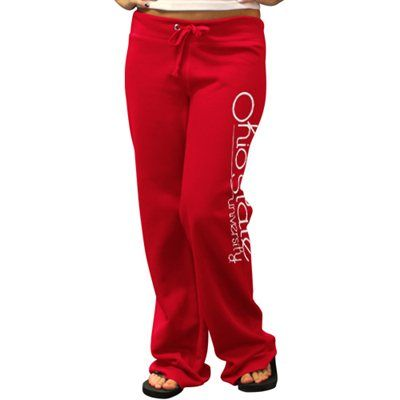 Ohio State Buckeyes Ladies Scarlet Rugby Fleece Sweatpants #Fanatics  #PinForPresents