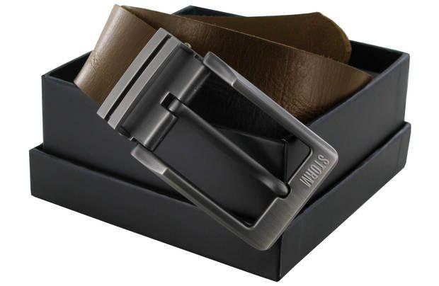Storm London Walker Leather Belt: Brown Mens Leather belt with branded Storm belt buckle. Belt length is easily… #UKShopping #OnlineShopping