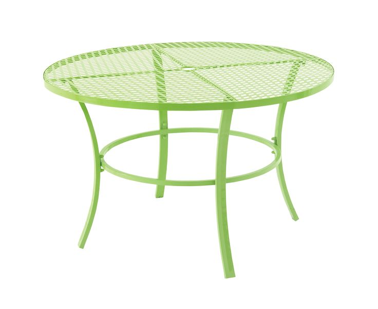 Mind Blowing Metal Round Outdoor Table