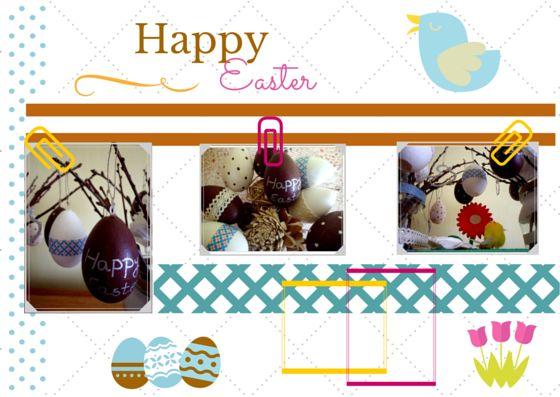 Húsvéti üdvözlő kártya