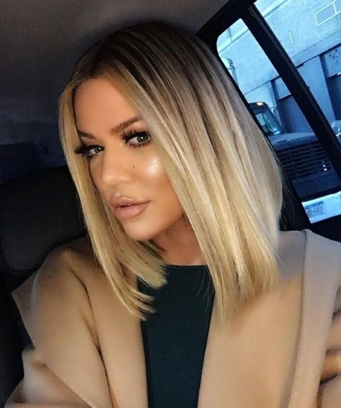 Get the formula: Khloe Kardashian's bombshell blonde