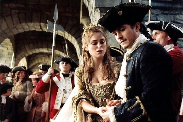 Pirates of the Caribbean 2: Dead Mans Chest : Keira Knightley & Orlando Bloom