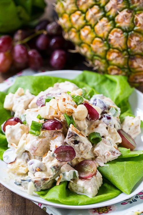 Tropischer Hühnersalat   – Salad