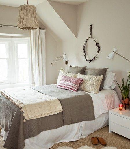 Chambre hivernale confortable
